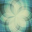 Abstract colorful transparent vintage lights illustration