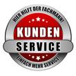 5 Star Button rot KUNDENSERVICE HHDF EMS
