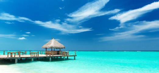 tropische Strandbar