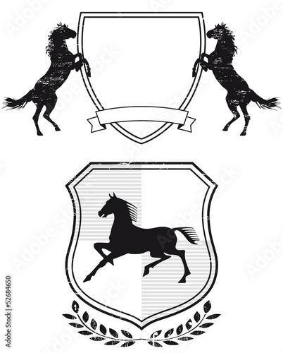 Pferde-Wappen