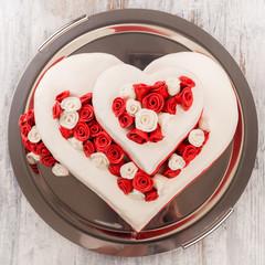 Hochzeitstorte in Herzform - Wedding Cake Heart