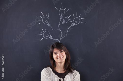 Woman with lots of creativity