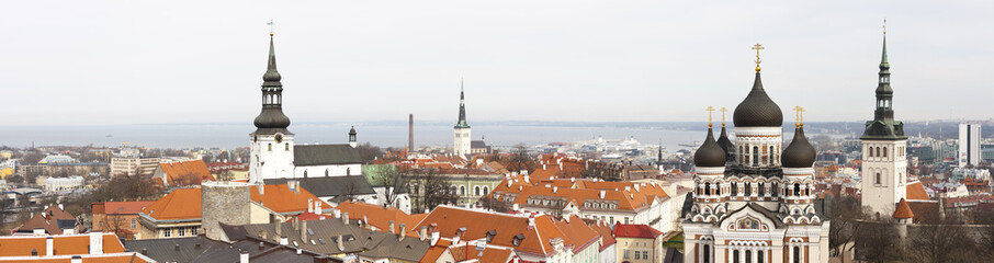 Panorama of Talinn Old Town