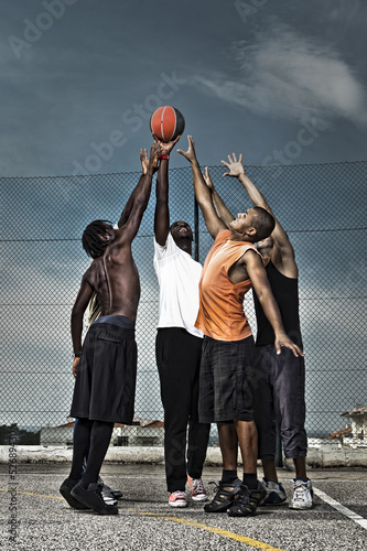 Street basketball team