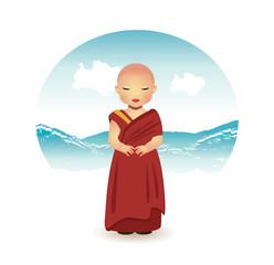 Tibetan Boy Monk