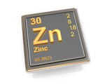 Zinc. Chemical element.