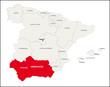 Autonome Region Andalusien, Spanien