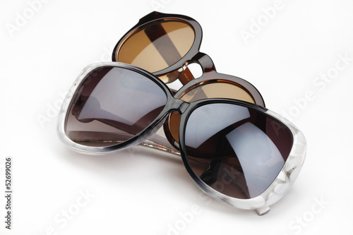 Sunglass Isolated on the White Background