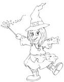 Hexe, Kind, Märchen, Karneval, Fasching
