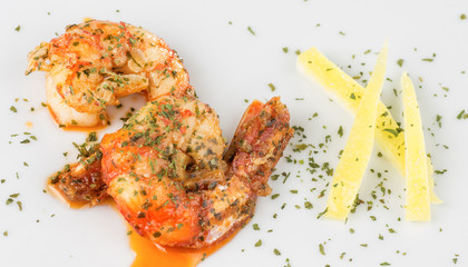prawn appetizer for two