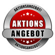 5 Star Button blau AKTIONSANGEBOT AA AA