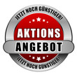 5 Star Button rot AKTIONSANGEBOT JNG JNG