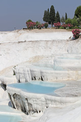 Pamukkale Travertines of Denizli,Turkey