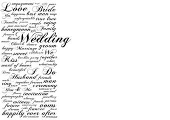Wedding Tagcloud