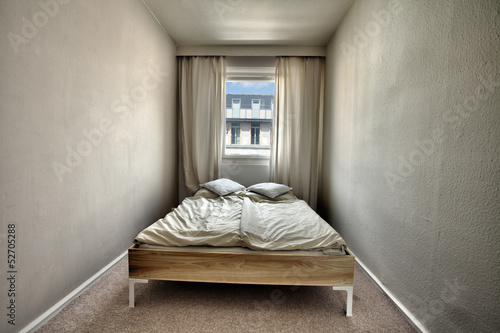 Wide Angle Bedroom