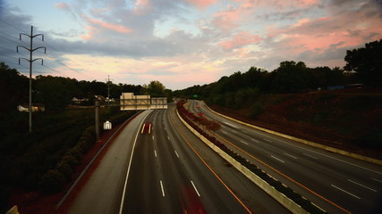 Interstate 385 Time Lapse