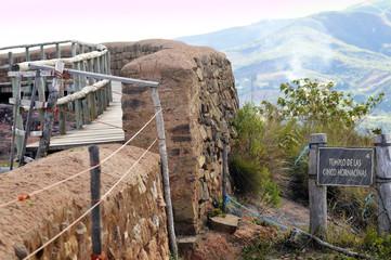 Samaipata Fortress Ruins at Santa Cruz, Bolivia