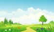 Summer landscape - 52709071