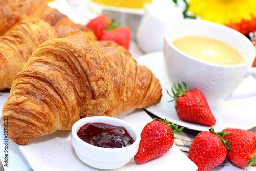 Frühstück,Croissant
