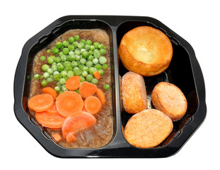 Frozen Roast Beef Meal