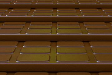 Schokoladentafel - 3D Render