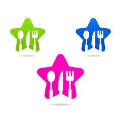 kitchen web icon star