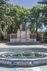 Italy Square (Plaza Italia) in Mendoza, Argentina.