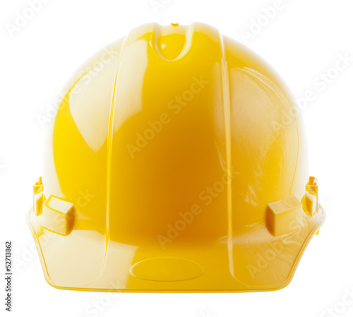 Isolated Hard Hat - Frontal Yellow