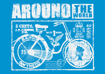 Cycle around the world