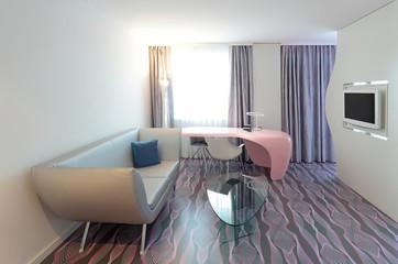 Wohnbereich einer Hotelsuite