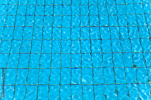 close up swimming pool water and wave