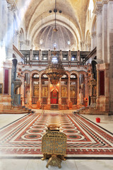 The Holy Sepulcher in Jerusalem