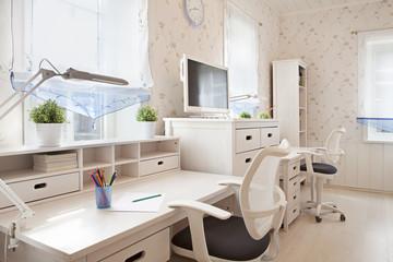 Interior of children's room