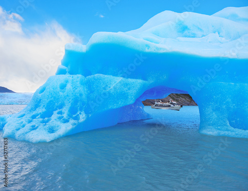 The iceberg and cold water