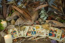 "Постер, картина, фотообои ""Tarot divination 075"""