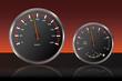 Auto Tachometer Armaturenbrett Geschwindigkeit Tankanzeige 2