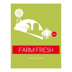 Etichetta per prodotto alimentare biologico