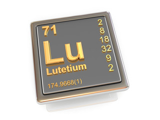 Lutetium. Chemical element.