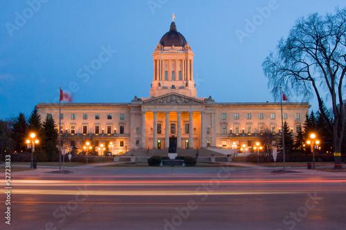 canvas print picture Manitoba Legislative Building