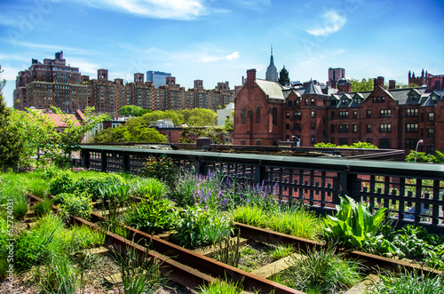 HIgh Line, urban public park, New York City, Manhattan - 52724031