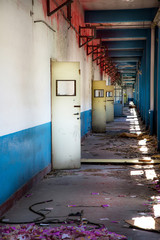 interno di edificio abbandonato