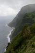 Les falaises de l'île Sao Miguel aux Açores