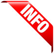 """Banner """"Info"""" rot"""