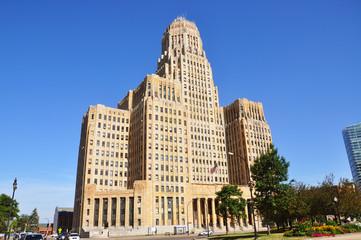 Buffalo City Hall, Art Deco Style, Buffalo, New York State