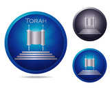 Torah icon set