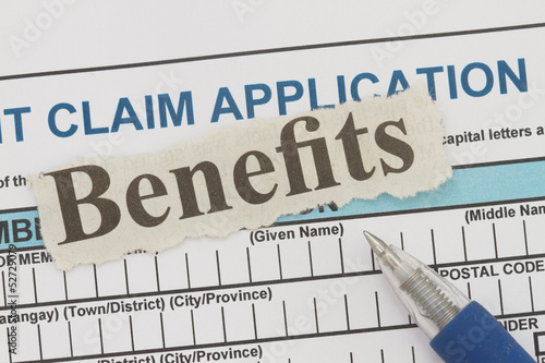 benefits newspaper cutout