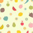 Fruits And Vegetables Abstract Background