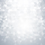 Fototapety Abstract white geometric background