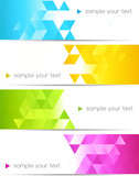 Fototapety Abstract color banner