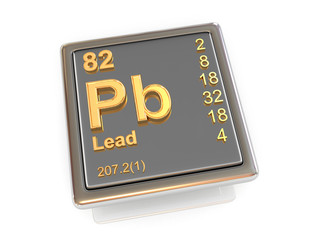 Lead. Chemical element.